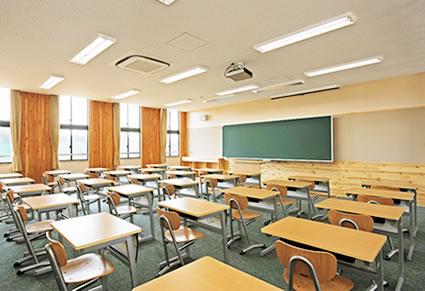 すべての講義 理科1 : 普通教室 施設と環境 施設案内 学校法人常磐 ...